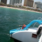 Spirit Of Lauderdale Ski, Spalsh and Snorkel slide to water fun