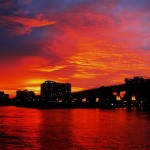 Miami Sunset Caribbean Spirit red sky view