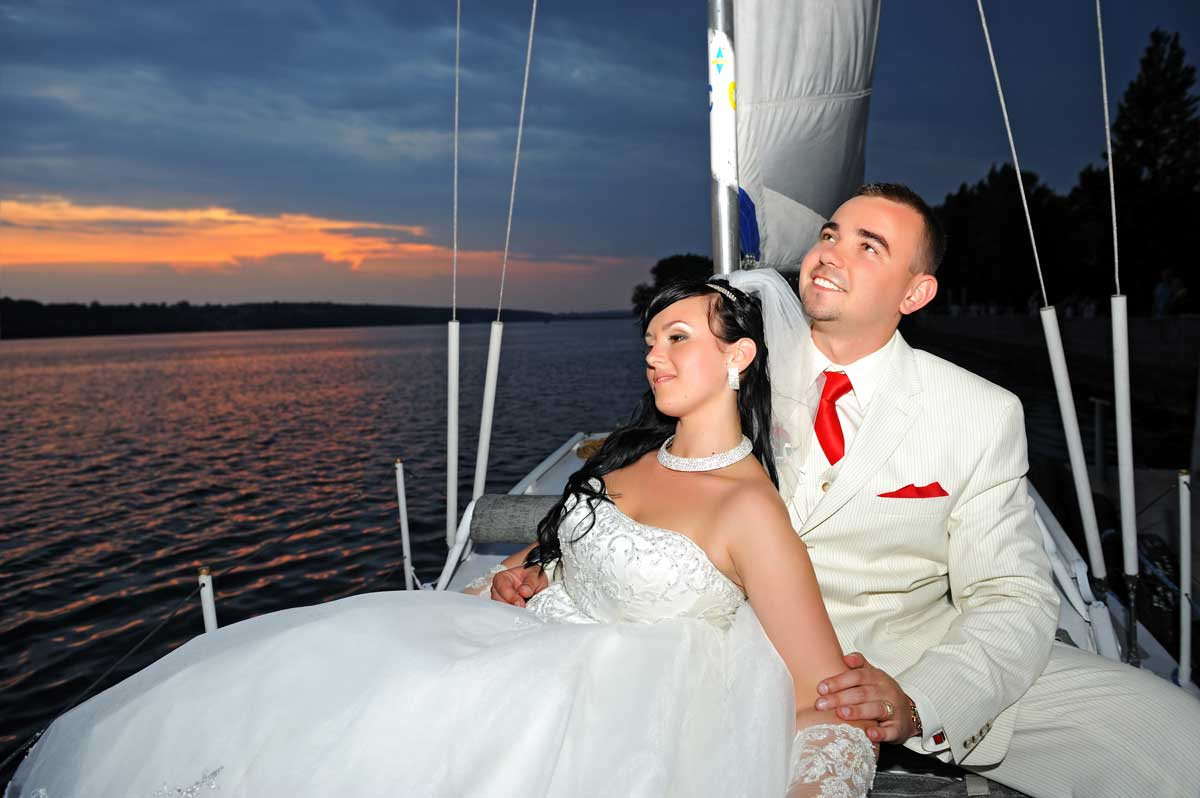 Wedding on a Yacht in South Florida
