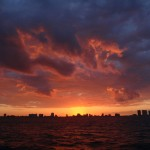 Miami Sunset Caribbean Spirit sky view