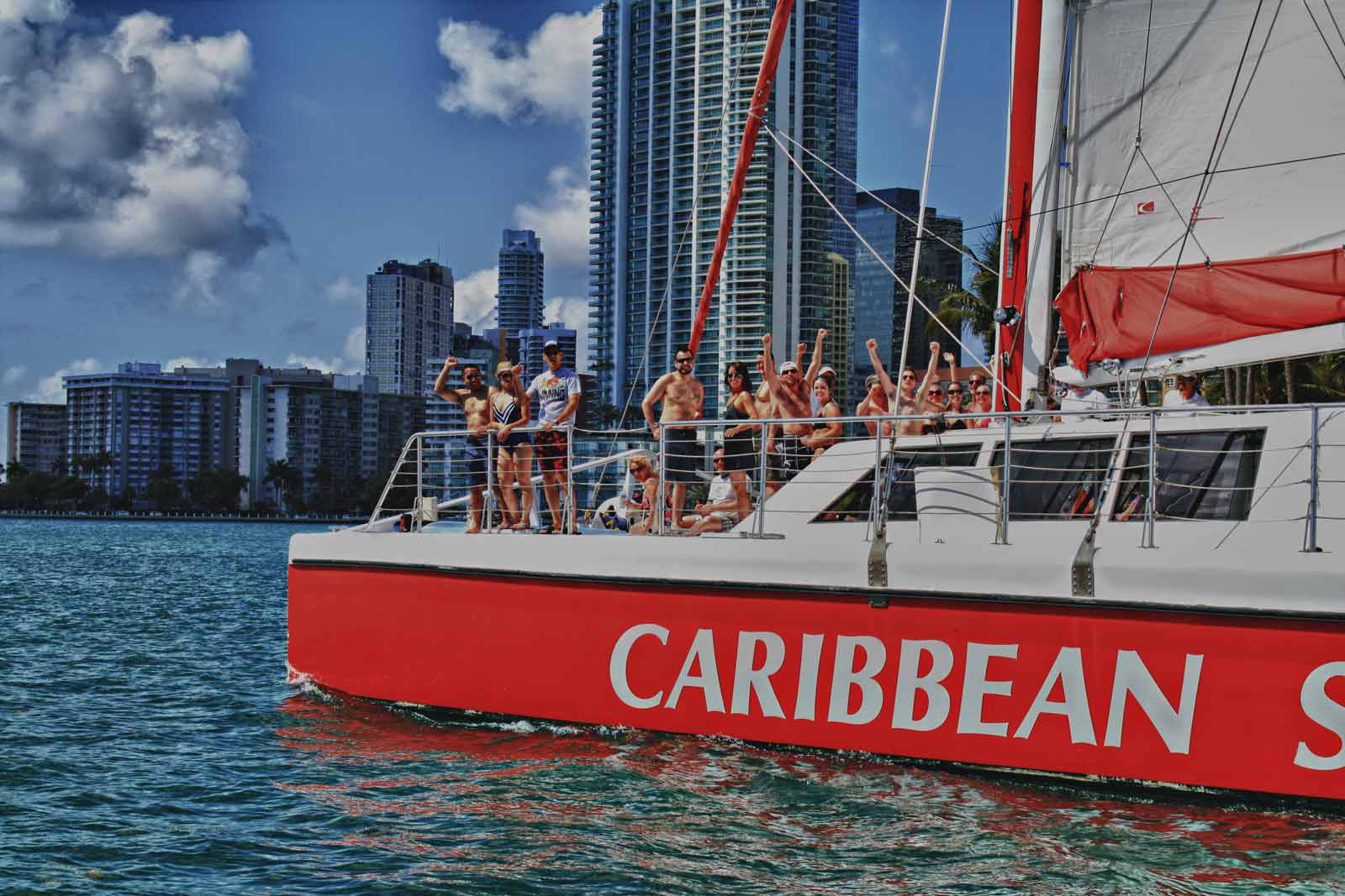 Private Yacht Charter Miami On Our Caribbean Spirit Catamaransailing Charters Fort Lauderdale Cruise