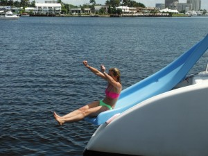 tropicalsailing water activity slide water