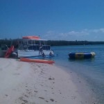 Flagler island with Tranquility beached for a day cruise from Miami