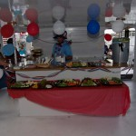 miami_party_catamaran food decoration