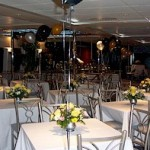 111- foot Austal dining tables