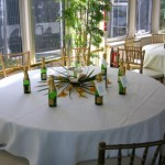 130′ Chesapeake Boatworks Yacht table