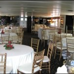 137- foot Swiftship dining space