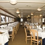 142- foot Swiftship dining table