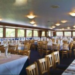 170- foot Swiftship dining space