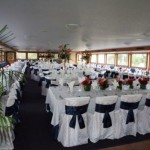 170- foot Swiftship big dining tables