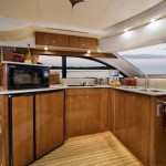 42-foot meridian yacht kitchen look