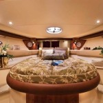 42-foot meridian yacht luxury table