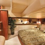 42-foot meridian yacht bedroom interior