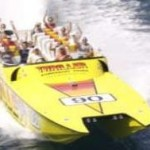 55-foot Super Cat superspeed party yellow speed boat