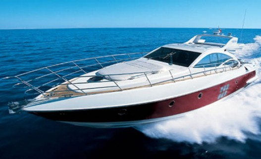 68-foot Azimut 68S speed boat