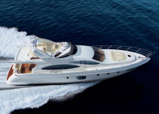 70-foot Azimut speed boat
