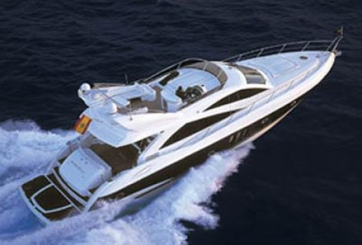 72 foot sunseeker manhatan waves
