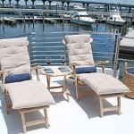 80- foot hatteras two chairs dock