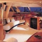 84- foot Sunseeker Manhattan living rom furniture
