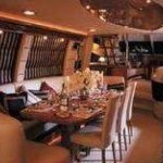 84- foot Sunseeker Manhattan dining table