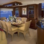 85-foot pacific mariner dining table
