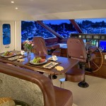 85-foot pacific mariner wooden table