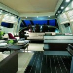 86- foot Azimut 86s relax zone furniture