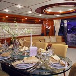 94 – Foot Ferretti dining table