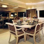 98-foot Westship dining table