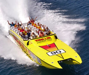 55-foot Super Cat crazy speed boat